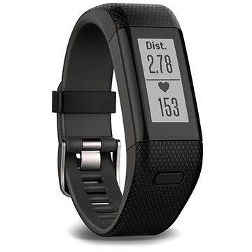 Fitness náramek Garmin vívoSmart Optic s GPS Black (L) (010-01955-42)