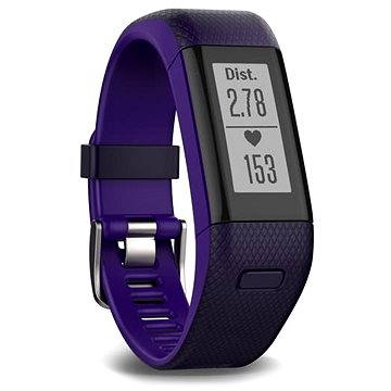 Fitness náramek Garmin vívoSmart Optic s GPS Purple (L) (010-01955-43)