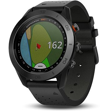 Sporttester Garmin Approach S60 Black Premium Lifetime (753759172824)