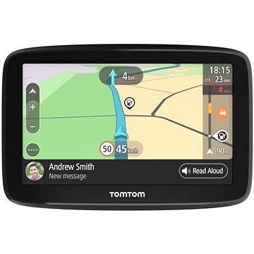 "TomTom GO Basic 6"" Europe LIFETIME mapy (1BA6.002.01)"