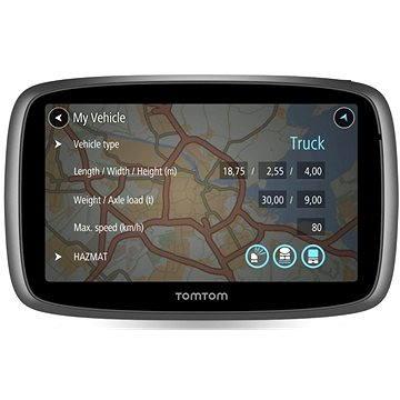 TomTom TRUCKER 5000 Lifetime mapy (1FL5.002.11) + ZDARMA Digitální předplatné Exkluziv - SK - Roční předplatné