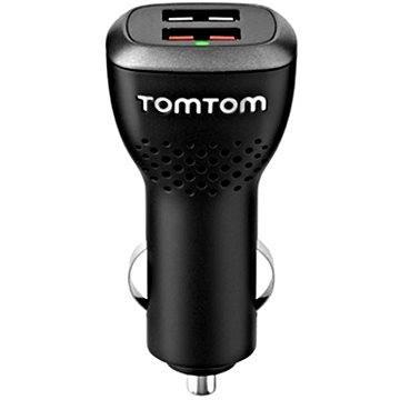 TomTom USB rychlonabíječka do auta duální (2xUSB) (9UUC.001.22) + ZDARMA Digitální předplatné Exkluziv - SK - Roční od ALZY