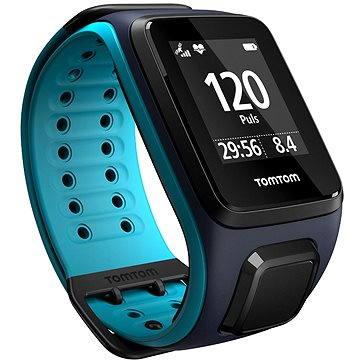 Sporttester TomTom GPS hodinky Runner2 Cardio (L), modrá (1RF0.001.01) + ZDARMA Digitální předplatné Exkluziv - SK - Roční předplatné