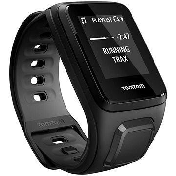 Sporttester TomTom GPS hodinky Runner 2 Cardio + Music (S), černá/antracit (1RFM.001.06) + ZDARMA Sluchátka TomTom Sports Bluetooth Headset Digitální předplatné Exkluziv - SK - Roční předplatné