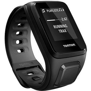 Sporttester TomTom GPS hodinky Runner2 Music (L), černá/antracit (1REM.001.08) + ZDARMA Digitální předplatné Exkluziv - SK - Roční předplatné