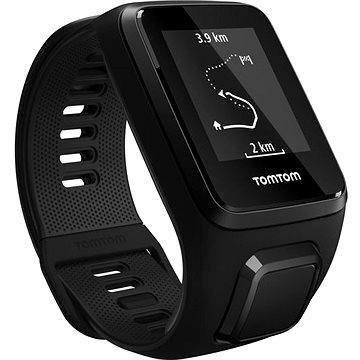 Sporttester TomTom GPS hodinky Spark 3 Cardio (L) černý (1RK0.002.00)