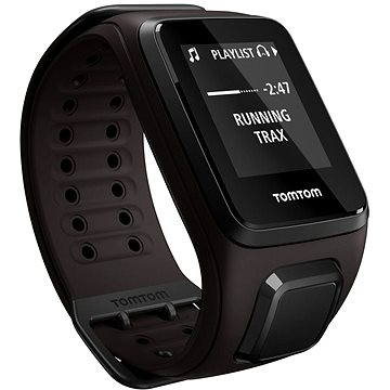 Sporttester TomTom GPS hodinky Spark Fitness Music (L), hnědá (1REM.003.00) + ZDARMA Sluchátka TomTom Sports Bluetooth Headset Digitální předplatné Exkluziv - SK - Roční předplatné