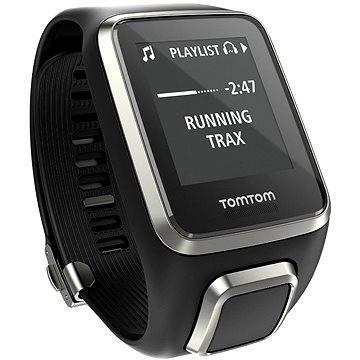 Sporttester TomTom GPS hodinky Spark Fitness Premium Edition Cardio + Music (L) černý (1RFM.003.08) + ZDARMA Digitální předplatné Exkluziv - SK - Roční předplatné