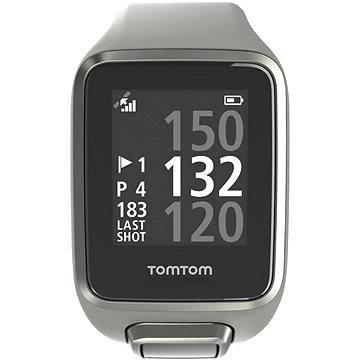 Sporttester TomTom GPS hodinky Golfer 2 (L) světle šedé (1REG.001.02) + ZDARMA Digitální předplatné Exkluziv - SK - PROMO roční předplatné