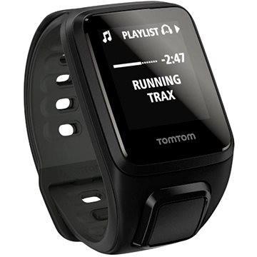 Sporttester TomTom GPS hodinky Spark Fitness Cardio + Music (S), černá (1RFM.003.03) + ZDARMA Digitální předplatné Exkluziv - SK - Roční předplatné