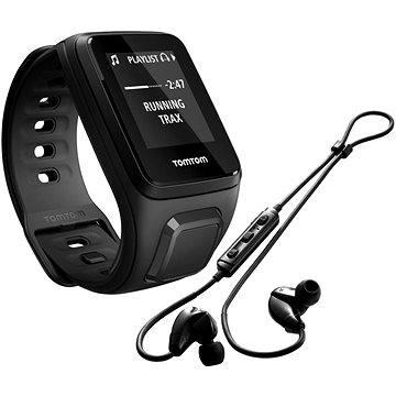 Sporttester TomTom Spark Fitness Music (S), černá + bluetooth sluchátka (1REM.003.05) + ZDARMA Digitální předplatné Exkluziv - SK - PROMO roční předplatné