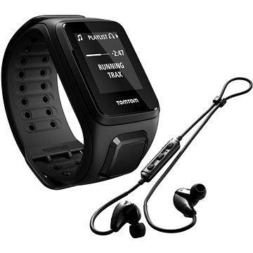 Sporttester TomTom Spark Fitness Music (L), černá + bluetooth sluchátka (1REM.003.04) + ZDARMA Digitální předplatné Exkluziv - SK - PROMO roční předplatné
