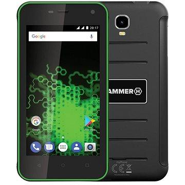 MyPhone HAMMER Active zelený + ZDARMA Záznamová kamera do auta FOREVER VR-110 kamera do vozu Digi