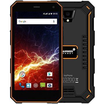 MyPhone HAMMER Energy 3G oranžovo-černý