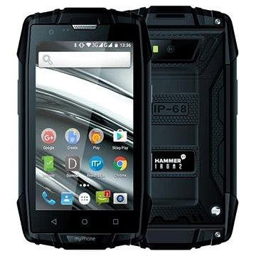 myPhone Hammer Iron 2 černá (TELMYAHIRON2BK)