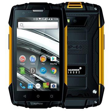 myPhone Hammer Iron 2 oranžovo-černá (TELMYAHIRON2OR)