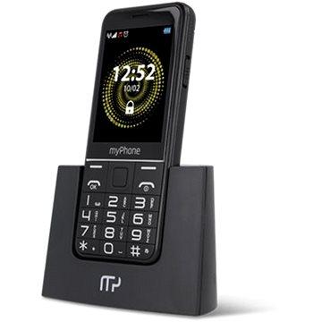 myPhone Halo Q Senior černá (TELMYSHALOQBK)