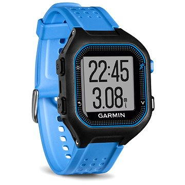 Sporttester Garmin Forerunner 25 Black/Blue (vel. XL) (010-01353-11)