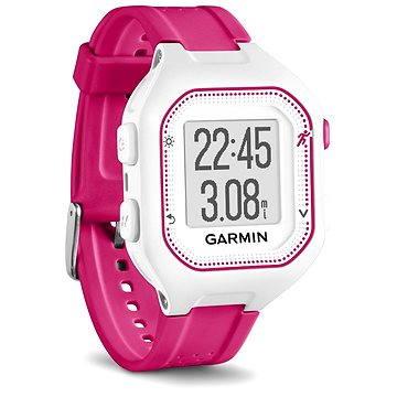 Sporttester Garmin Forerunner 25 White/Pink (vel. S) (010-01353-31)