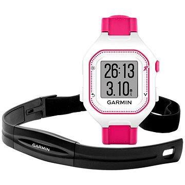 Sporttester Garmin Forerunner 25 HR White/Pink (vel. S) (010-01353-71)