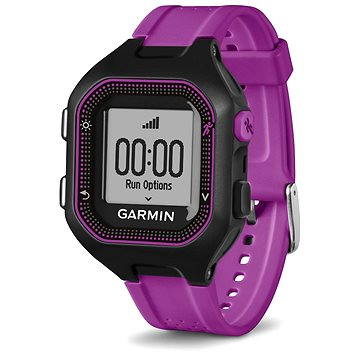 Sporttester Garmin Forerunner 25 Black/Purple (vel. S) (010-01353-30)