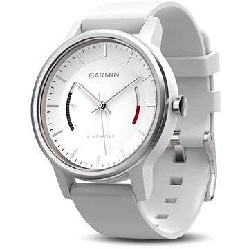 Chytré hodinky Garmin vivomove Sport White (010-01597-01)