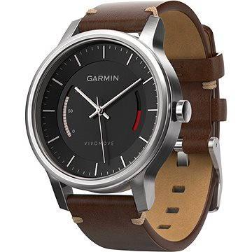 Chytré hodinky Garmin vivomove Premium Steinless Steel (010-01597-20)