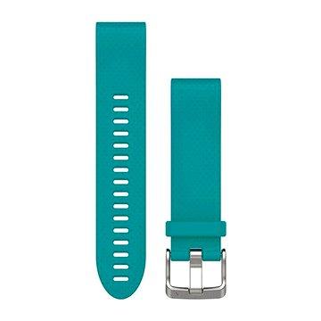 Garmin QuickFit 20 silikonový tyrkysový (010-12491-11)