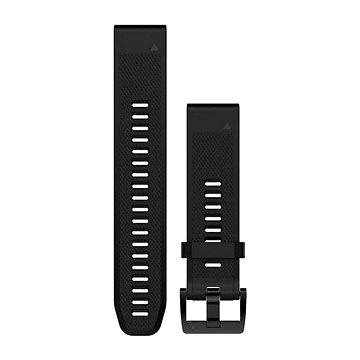 Garmin QuickFit 22 silikonový černý (010-12496-00)