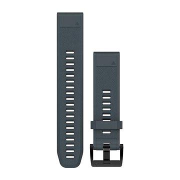 Garmin QuickFit 22 silikonový modrošedý (010-12496-01)