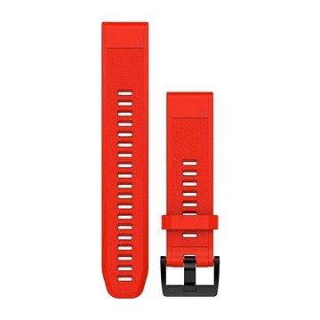 Garmin QuickFit 22 silikonový červený (010-12496-03)