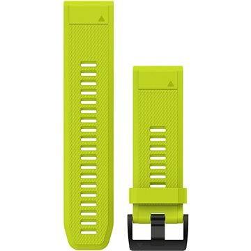 Garmin QuickFit 26 silikonový žlutý (010-12517-01)