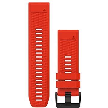 Garmin QuickFit 26 silikonový červený (010-12517-02)