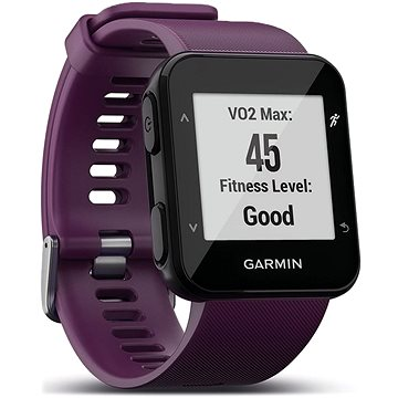 Chytré hodinky Garmin Forerunner 30 Violet Optic (010-01930-05)