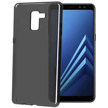 CELLY Gelskin pro Samsung Galaxy A8 Plus (2018) černé (GELSKIN707BK)