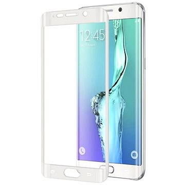 CELLY GLASS pro Samsung Galaxy S6 Edge Plus bílé (GLASS515WH)