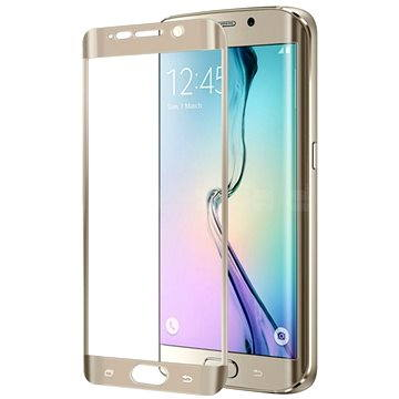 CELLY GLASS pro Samsung Galaxy S6 Edge Plus zlaté (GLASS515GD)