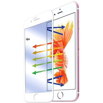 CELLY GLASS pro iPhone 6 a iPhone 6S bílé (GLASS700WH)