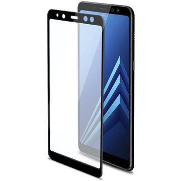 CELLY 3D Glass pro Samsung Galaxy A8 Plus (2018) černé (3DGLASS707BK)