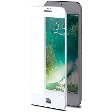 CELLY 3D Glass pro Apple iPhone 7/8 bílé (3DGLASS800WH)