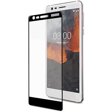 CELLY Full Glass pro Nokia 3.1/Nokia 3 (2018) černé (FULLGLASS766BK)