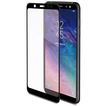 CELLY 3D Glass pro Samsung Galaxy A6 (2018), černé (3DGLASS737BK)