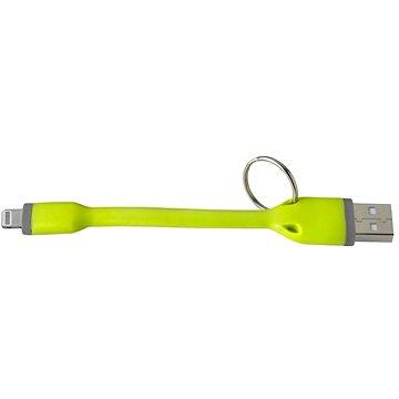 CELLY USB přívěšek Lightning MFI zelený (USBLIGHTKEYGN)