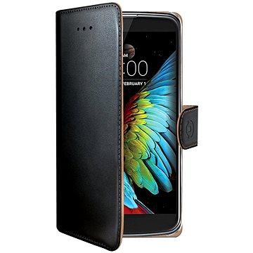 CELLY Wally pro LG K10 (2017) černé (WALLY653)