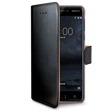 CELLY Wally pro Nokia 5 černé (WALLY661)