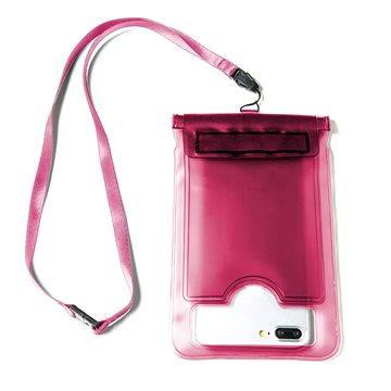 CELLY Splash Bag pro telefony 5.7 růžové (SPLASHBAGPK)