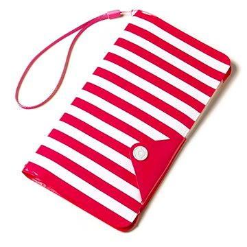 CELLY Splash Wallet pro telefony 5.7 růžové (SPLASHWALLETPK)