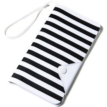 CELLY Splash Wallet pro telefony 5.7 bílé (SPLASHWALLETWH)