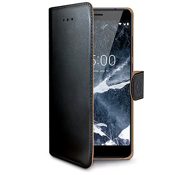 CELLY Wally pro Nokia 5.1/Nokia 5 (2018) černé (WALLY765)