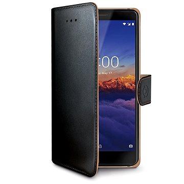 CELLY Wally pro Nokia 3.1/Nokia 3 (2018) černé (WALLY766)